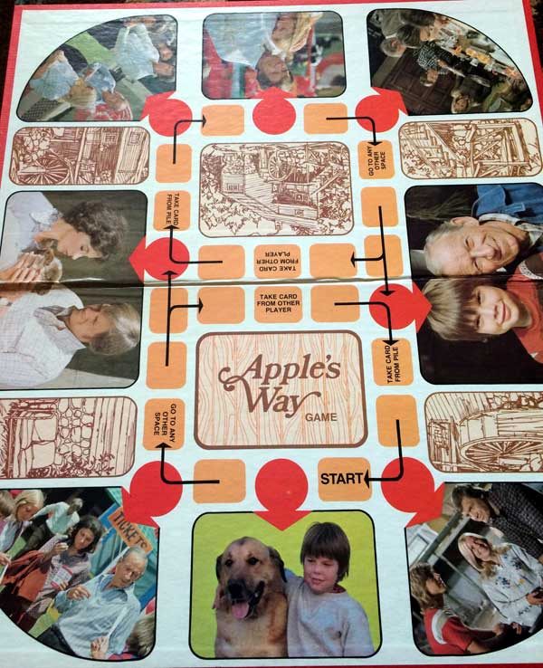 Apple's Way Boardgame