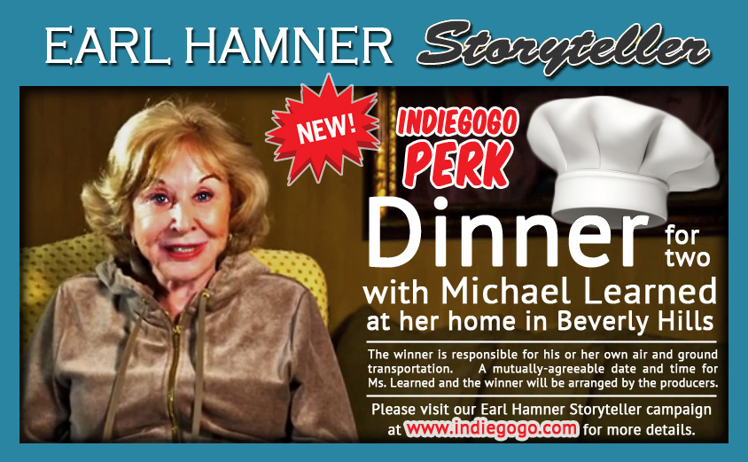 Michael Learned Indiegogo Perk