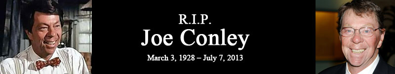 R.I.P. Joe Conley