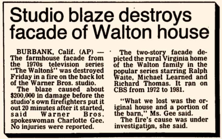 The Waltons Kami Cotler S Memories