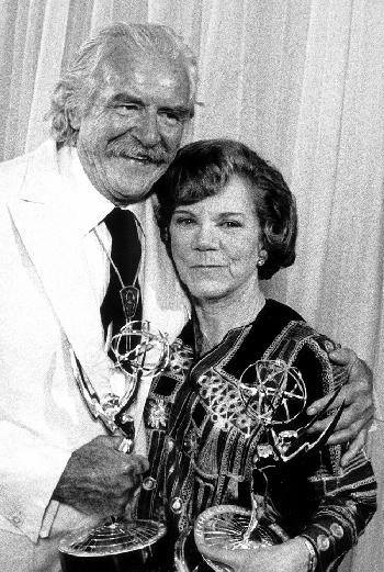 Emmy Awards The Waltons Will Geer Ellen Corby