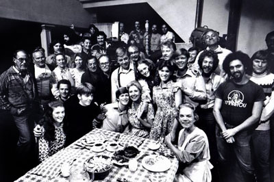 Waltons Behind the Scenes - Michael Learned's last day