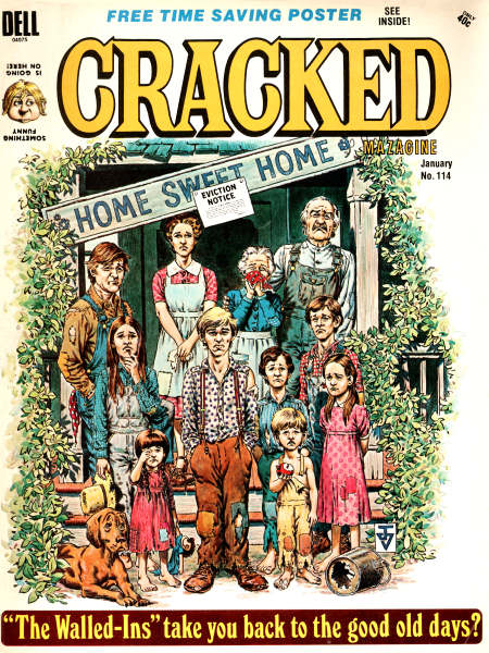 The Waltons Articles Cracked Magazine Jan 1974